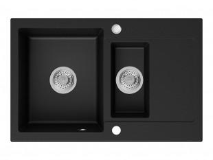 Évier Granit Séville Noir